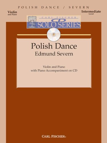 Polish Dance - Intermediate - Violin & Piano - Bk/CD