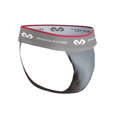 McDavid Performance Suspensorium Tiefschutz, grau, L