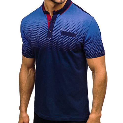 Buyaole,Camiseta Hombre Sin Mangas,Camisa Hombre 100% Poliester Sin Plancha,Sudadera Hombre Felpa,Polo Hombre...