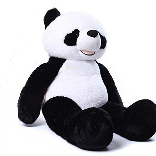 Bananair Peluche Géante Panda 200cm, Doudou Ultra Moelleux,