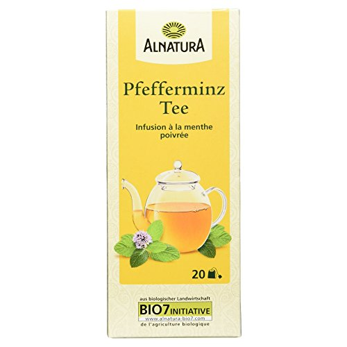 Alnatura Bio Pfefferminz Tee, 20 Beutel, 30g