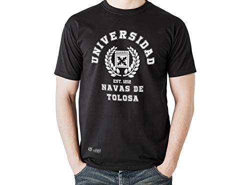 Estirpe Imperial Camiseta de España Navas de Tolosa (M, Negro)