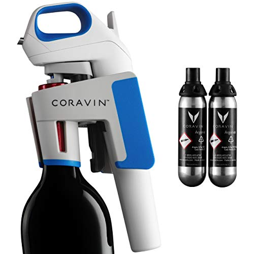 Coravin Model One Advanced - Wine Saver and Needle Pourer - Includes 2 Argon Gas Capsules