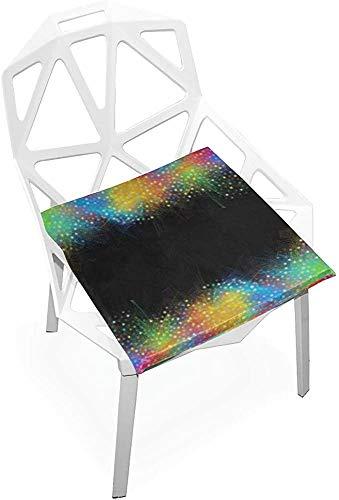 Mesllings - Cojín para silla de exterior (38 x 35 cm)