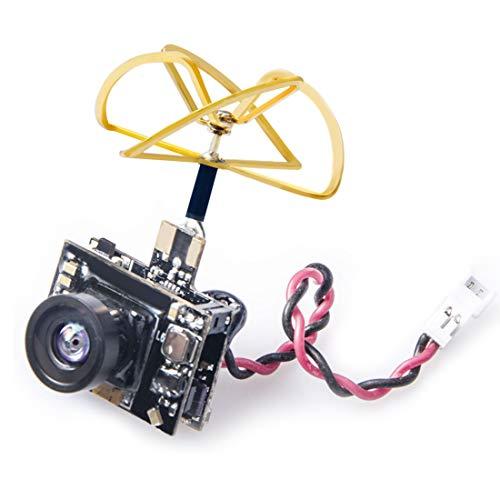AKK AC52 600TVL Miniaturkamera und 5.8G 40CH VTX mit Quad-Leaf-Antenne für kleine Whoop FPV-Drohnen