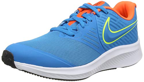 Nike Star Runner 2 (GS), Trail Running Shoe Unisex Adulto, Azul, 40.5 EU