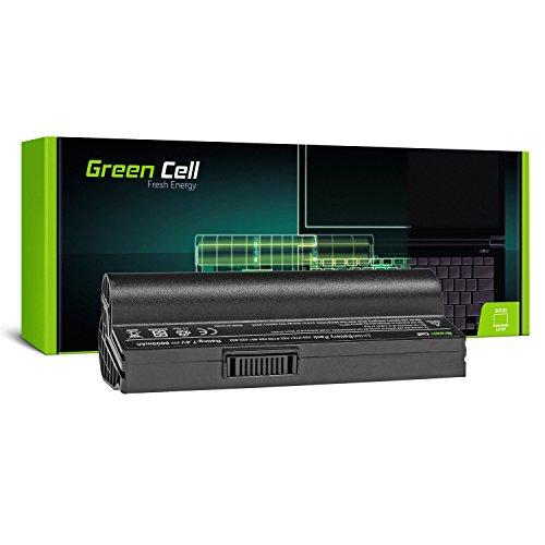 Green Cell® A22-700 A22-P701 P22-900 Standard Serie Laptop Akku für ASUS Eee PC 700 701 900 2G 4G 8G 12G 20G Surf (6 Zellen 6600mAh 7.4V Schwarz)