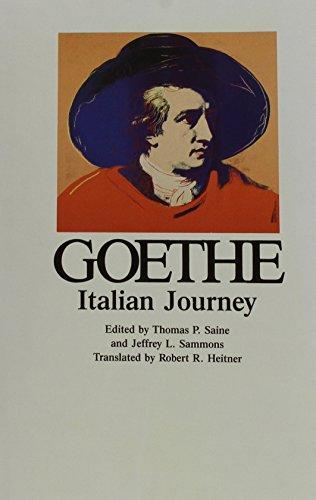 Italian Journey (Goethe's Collected Works)