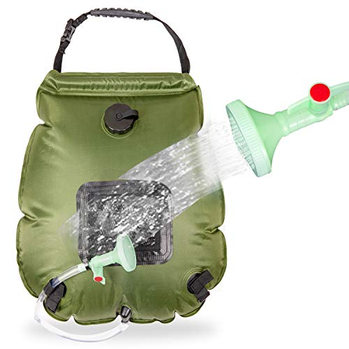 HiVehicle Solar Shower Camping Shower Bag
