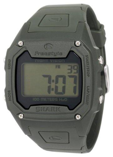 Freestyle FS84974 - Reloj Digital de Cuarzo para Hombre con Correa de Caucho, Color Verde