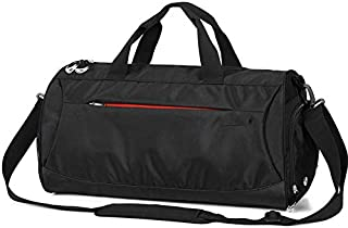 Fomatrade Sports Gym Bag Travel Duffle Bag Luggage with Shoes Compartment
