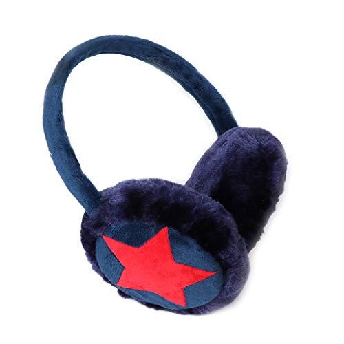 Haven shop Kinder-Ohrenwärmer, Ohrenschützer, warme Winter-Plüsch-Mädchen-Ohrenklappen, Schnee-und Wind-Wärmer