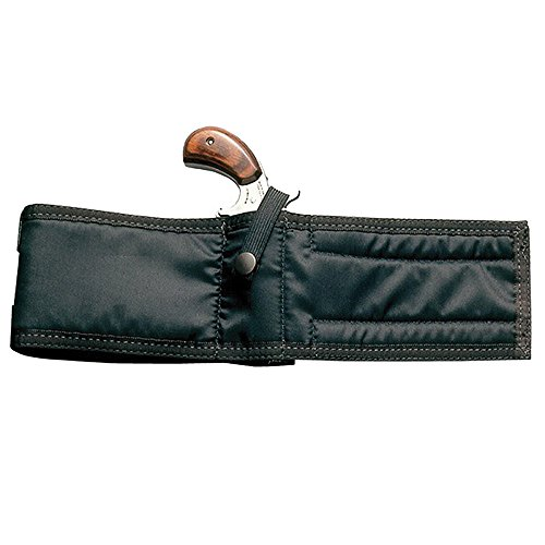 Ankle Holster Black Nylon Smooth Texture All Mini...