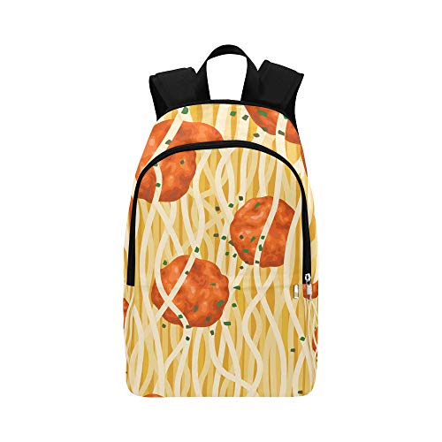 Limiejo Best Daypack Delicious Creative Food Meatball Durable Water Resistant Classic Daypack Women Bag Casual Women Womens School Bag Men Toiletry Travel Bag