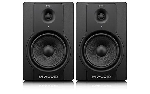 M-Audio BX8 Carbon D2 Studio Monitors   Compact studio monitors speakers...