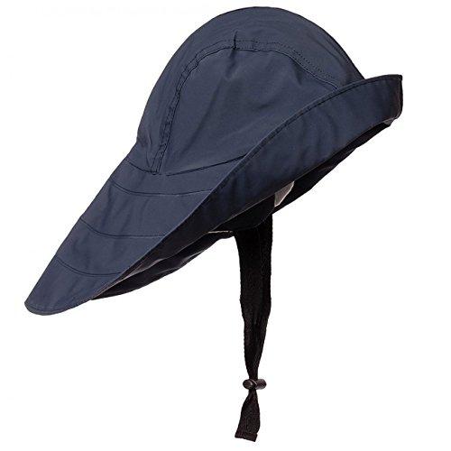 Modas Südwester - klassischer Regenhut, Größe:XL, Farbe:navyblau
