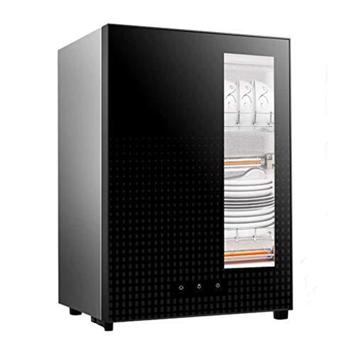YangJ Dreischichtiger Desktop-Desinfektionsschrank, Hochtemperatur-Desinfektionsschrank Intelligente Desinfektion mit Berührungszeit 53L, V : 220V / 功率 : 700W
