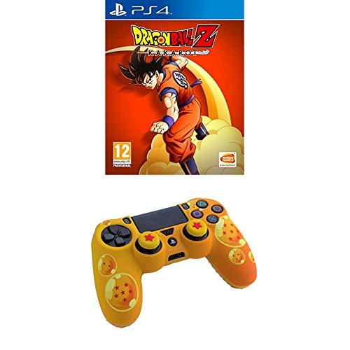 Dragon Ball Z: Kakarot PS4 - PlayStation 4 + Custodia protettiva Dualshock 4
