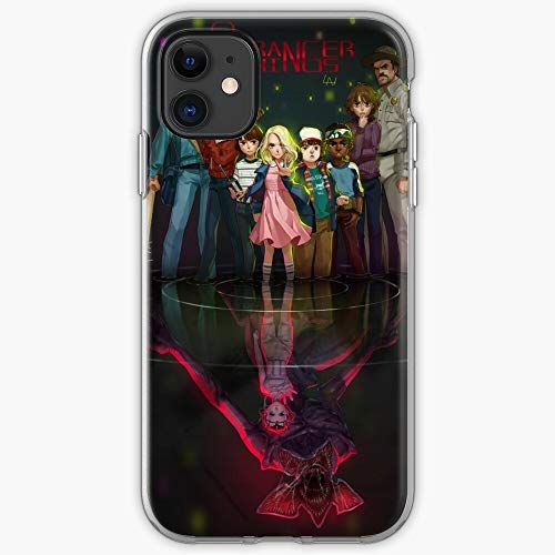 Stranger Things - Phone Case for All of iPhone 12, iPhone 11, iPhone 11 Pro, iPhone XR, iPhone 7/8 / SE 2020… Samsung Galaxy
