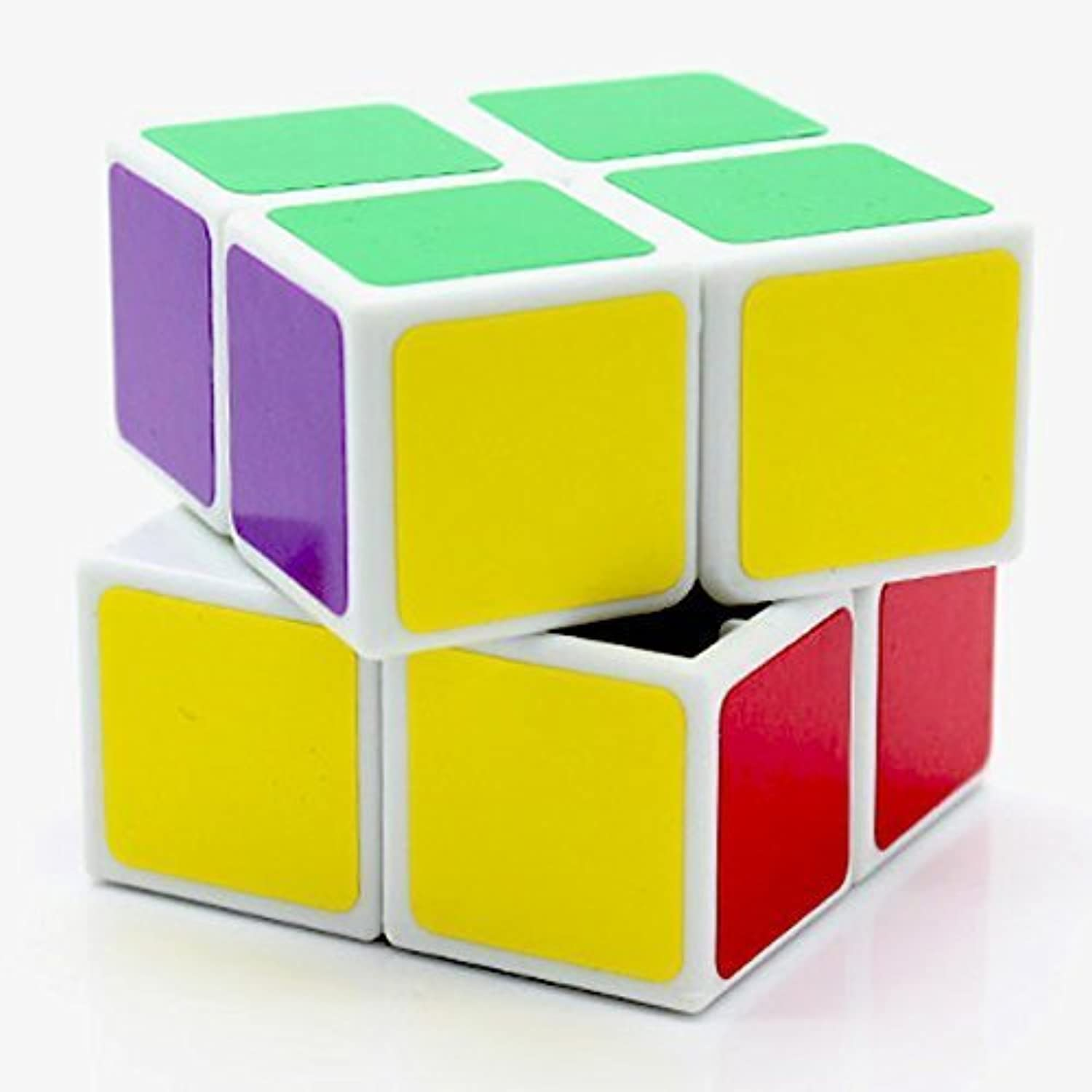 2x2x2 LanLan White Speed Cube Twisty Puzzle Smooth Toy NEW 2x2