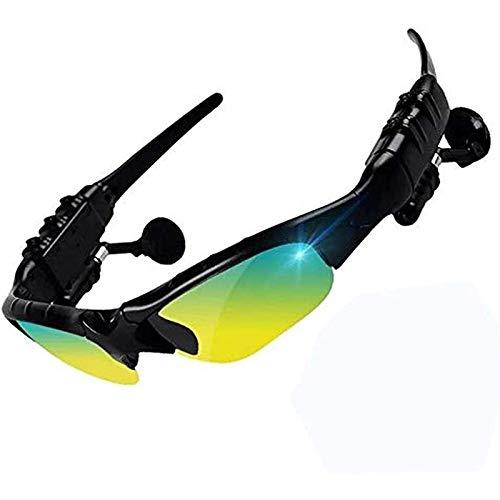 zdffgcgvg Producto Bluetooth Headset Sport Glasses 4.1 Llame a la música Informe de Voz