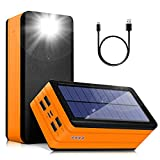 Solar Power Bank 50000mAh, Portable Solar...