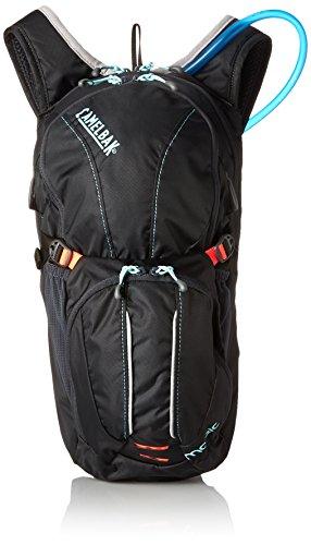Camelbak Hydration - Pack y bolsa de hidratación para ciclismo, color Gris (Charcoal/Fiery Coral), talla 6 Litre