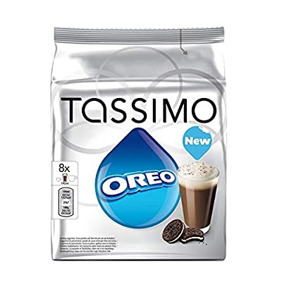 Tassimo Home Use T-Discs Pods You Choose Flavours Carte Noire Cadburys Suchards (Oreo Cookies 8's)