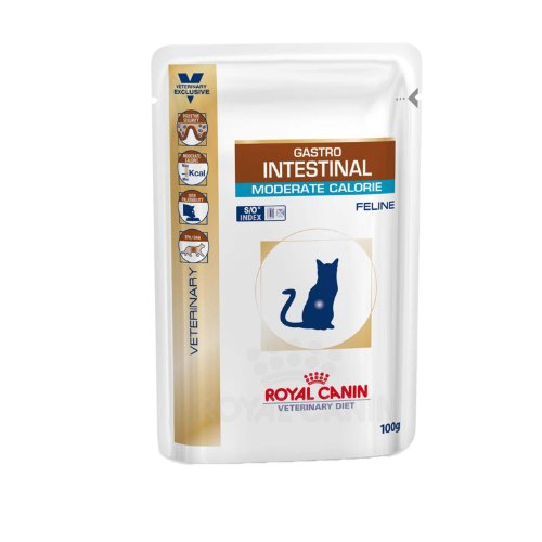 Royal Canin Gastro Intestinal Moderate Calorie 48x100g