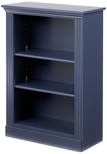 Lang Furniture Madison Solid Wood Book Shelf, 12 by 28 by 37-Inch, Indigo Blue