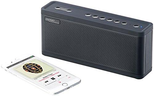 auvisio Lautsprecher Smartphone: Premium 2.1-Lautsprecher, 6.700-mAh-Akku, Bluetooth, NFC, 50 Watt (Lautsprecher tragbar, Bluetooth)