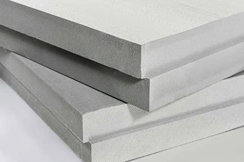 Lot de 10 plaques isolantes en mousse XPS Gris 1180 x 580 x 30 mm Technonicol Carbon Eco Panneau de mousse rigide en polystyrène extrudé avec bords pliés