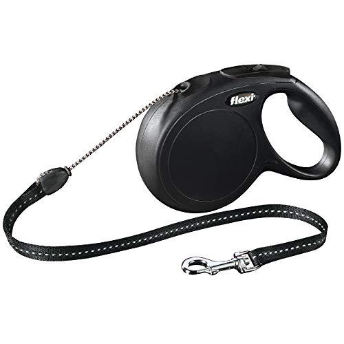 flexi New Classic S Seil 5 m schwarz für Hunde bis 12 kg