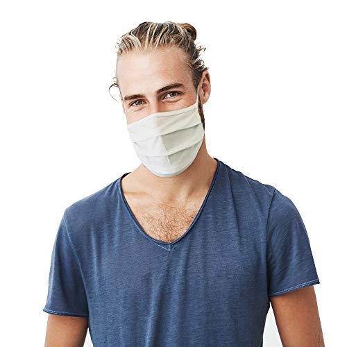 10x Sigi Big Sommer Gesichtsmaske für Wandern und Sport Freizeit Maske atmungsaktiv waschbar Baumwoll-Maske