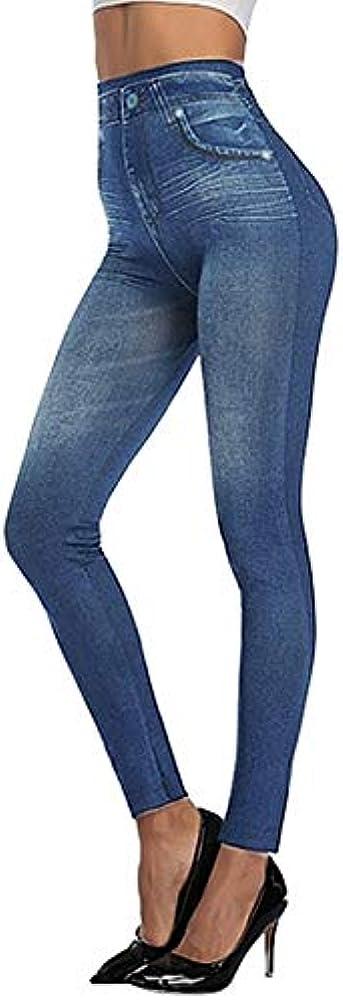 Ducomi den leggings donna, termici, vita alta,interno caldo pile per inverno CN_CLOTH_DEN_BLACK