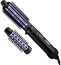 """Conair 2 in 1 Hot Air Brush, with 1.5"""" Aluminum Barrel and 1"""" Natural Boar and.."""