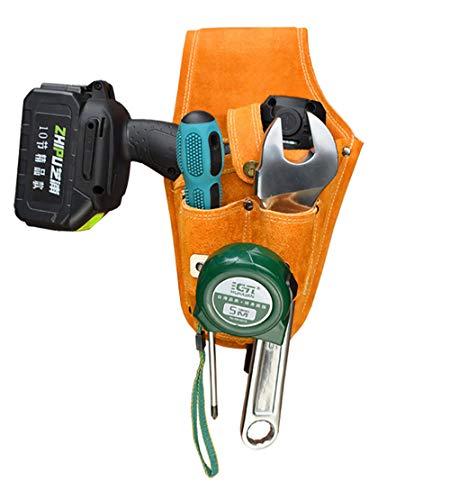 taladro eléctrico Bolsa herramientas Organizadores cuero pouch tool bag