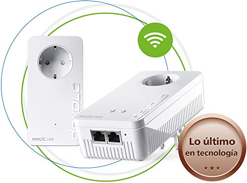 Devolo Magic 1 Wi-Fi - Starter Kit de Powerline para una Red...