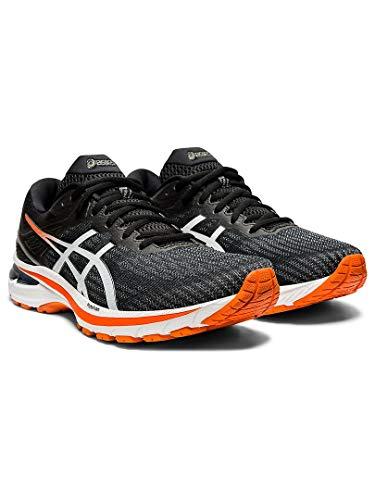 ASICS GT-2000 9, Zapatillas de Running Hombre, Negro Blanco, 48 EU