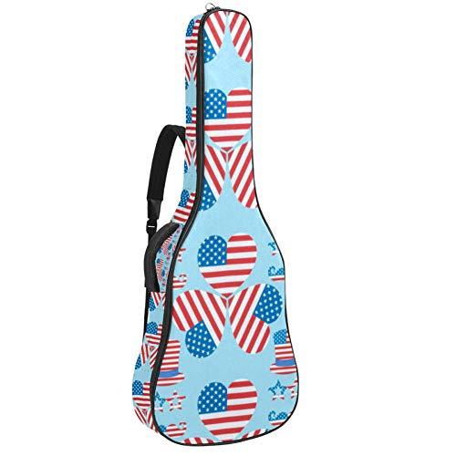 American Flags Guitarras bolsas y casos, Guitarra Clásica Gig Bag Guitarra Clásica Bolsa de concierto de Guitarra Clásica Bolsa