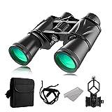 12 x 50 Prismáticos compactos, HD impermeables, binoculares, senderismo, caza, turismo, pequeños...