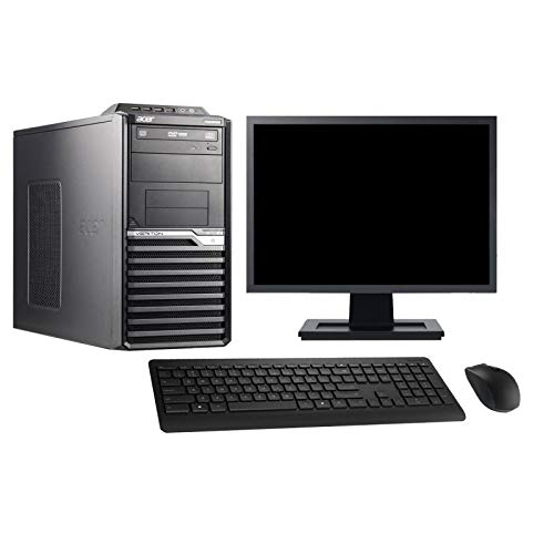 Acer PC Tour M2610G Screen 19 ' Intel i3-2120 RAM 4Go Disk 2To Windows 10 Wifi (Reconditioned)