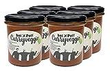 hot Pott Curryveggie - das Original - 6 x 300g vegetarisches Fertiggericht OHNE Konservierungsstoffe & laktosefrei frisch gekocht nach hauseigenem Rezept zu einem TOP-Preis!