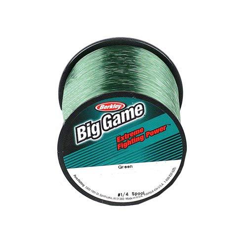 Reel Draggin' Tackle - Trilene Big Game 1-4 lb Spool - 50 lb 275 Yards, Green