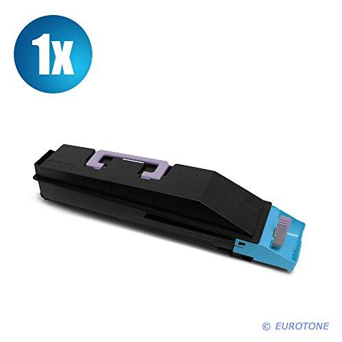 Eurotone Toner Kartusche für Kyocera Mita FS-C8020 FS-C8025 FS-C8520 FS-C8525 MFP ersetzt Blaue TK-895C Patrone Alternative