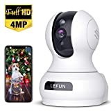 4MP Wireless Security Camera, Lefun WiFi Baby Monitor