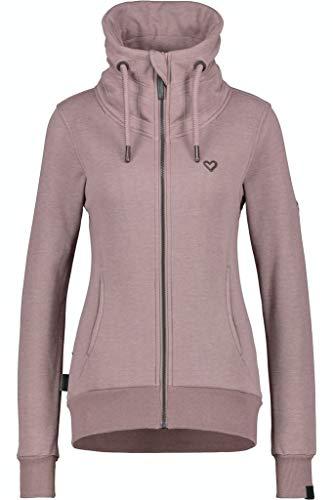Alife and Kickin Damen VivianAK Sweatshirt, Pale, S
