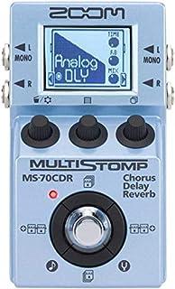 Zoom MS-70 CDR - Pedal multiefecto Chorus, Delay, Reverb