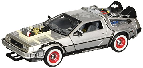 Welly 1:24 Back to The Future 3 Delorean Ritorno al Futuro III