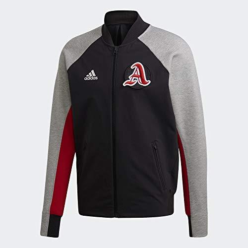 adidas Herren M VRCT Jacket Jacke, Negro/Brgrin/Escarl, XS